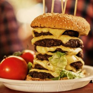 Kæmpe Burgers